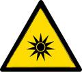 خطر پرتو نوری