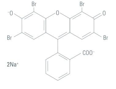 ساختار شیمیایی ائوزین